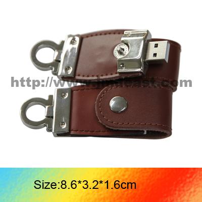 Leather usb flash drive, 8GB Udisk, 1gb usb flash drives
