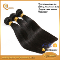 wholesale natural hair product 8-30 inches no tangle silky straight natural hair extension