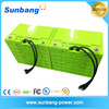 deep cycle rechargeable lifepo4 48v 100ah battery pack for solar system/ LED light / e bike