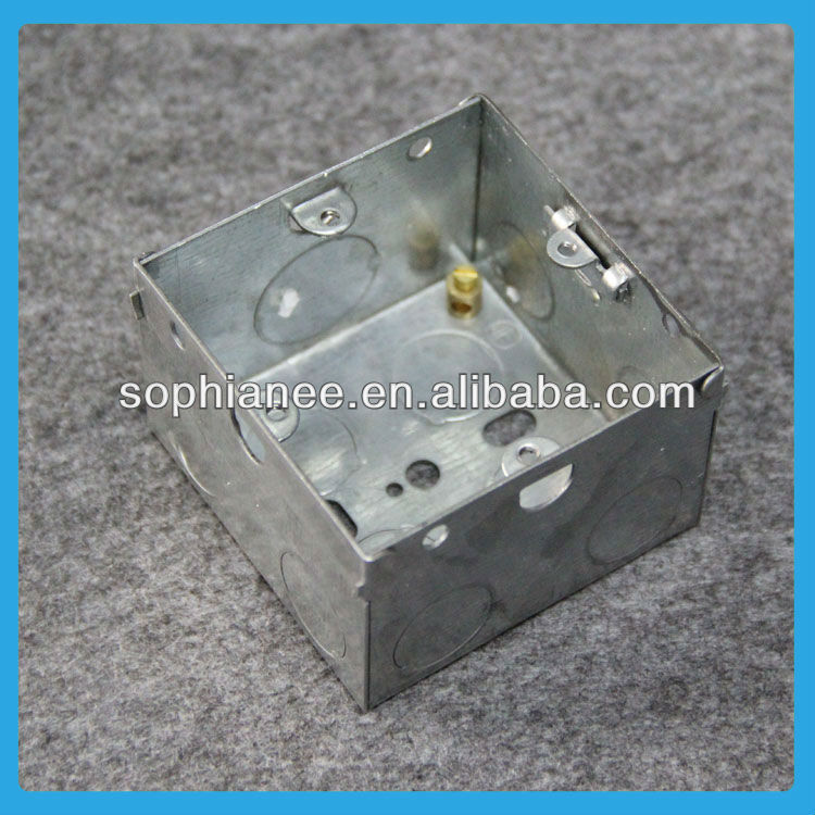 Hot Sale 3x3 Electrical Decorative Stainless Steel Boxes