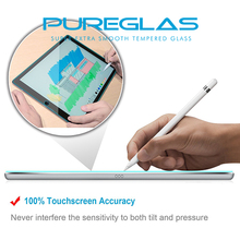 Trade assurance supplier ultra clear tablet screen protector glass For iPad Air 1 & 2/ Pro 9.7
