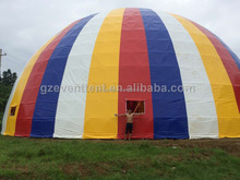 35m Large Dome Tent UV Resistant Geodesic Large Wall Tent For Trade Show