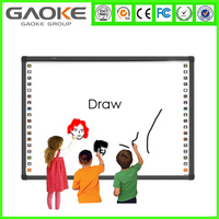 Gaoke 82'' 96'' 104'' interactive whiteboard for classroom