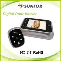 2014 hot sale video 3x digital zoom camera door bell