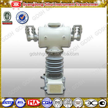 Low Pollution Gas SF6 110kV Voltage Transformer