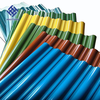 Color coated galvanized sheet metal roofing price