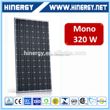 Monocrystalline Silicon High Power Efficiency Solar Panels 320 Watt With Tuv Iec Certificate