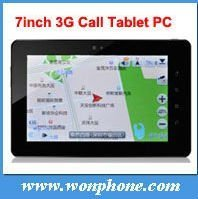 7inch Qualcomm MSM7227 New Tablet PC Android 4.0 3G Call PC