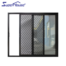 Standard hotel automatic glass sliding doors with as2047