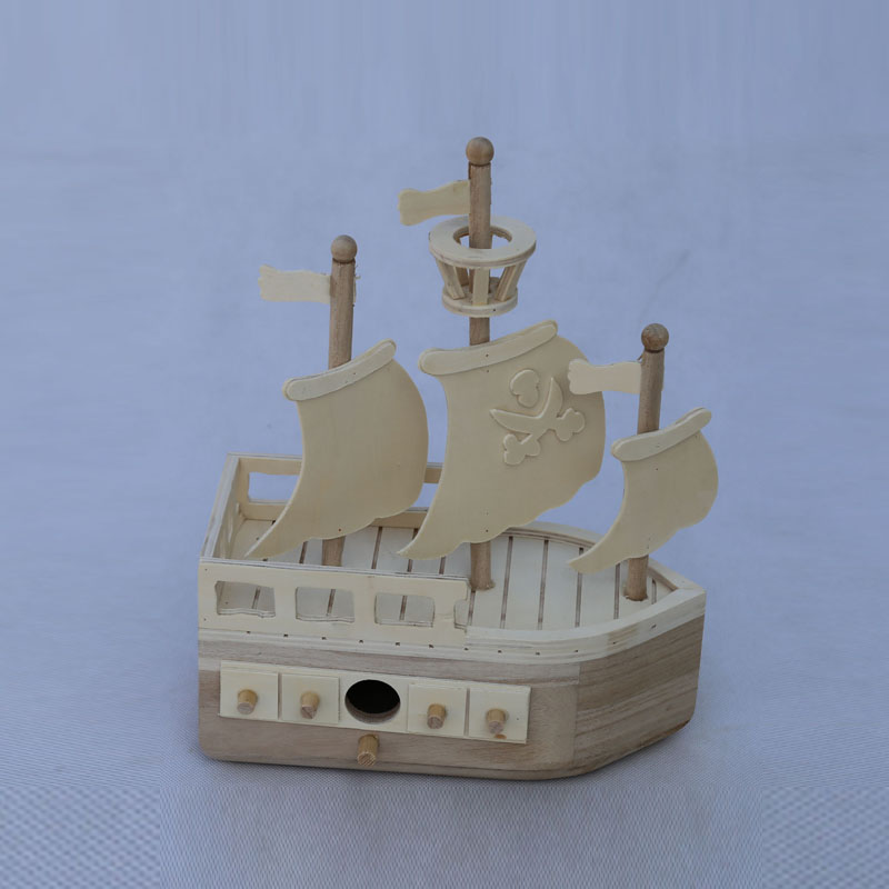 Useful customized color wooden model ships for sale