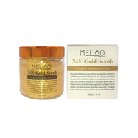 24K Gold Body Scrub And Facial