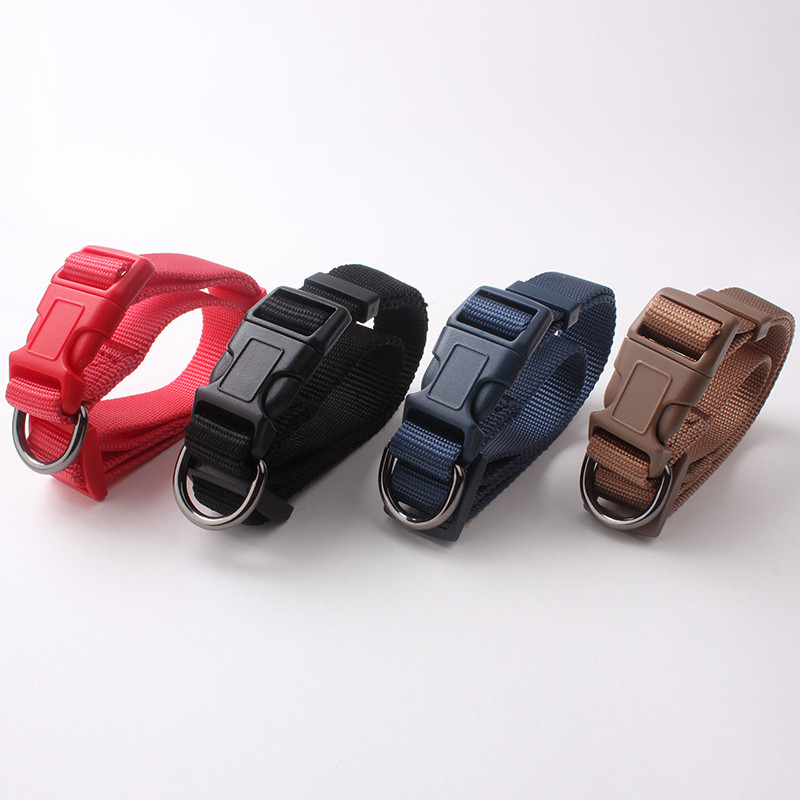 Hot sales Simple Wholesale Premium Dog Collars Nylon