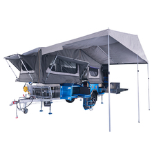 australian Forward Folding Camper Trailer with tent