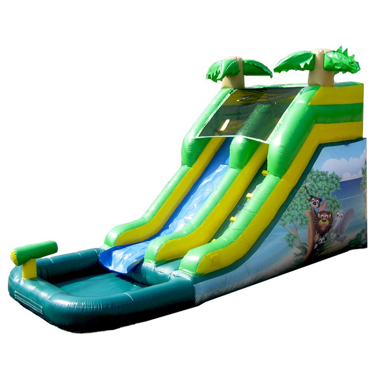 New Design Colorful inflatable water slide amusement park rides