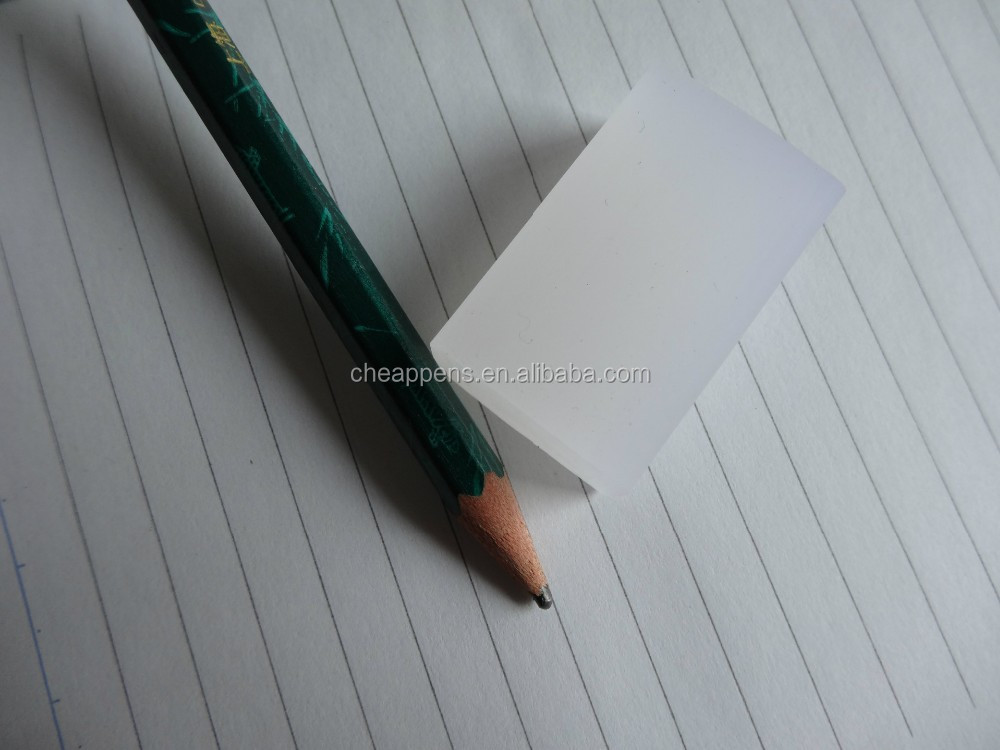 PVC transparent eraser for pencil ink