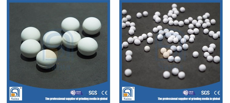 Saina high quality high alumina ceramic cyclone