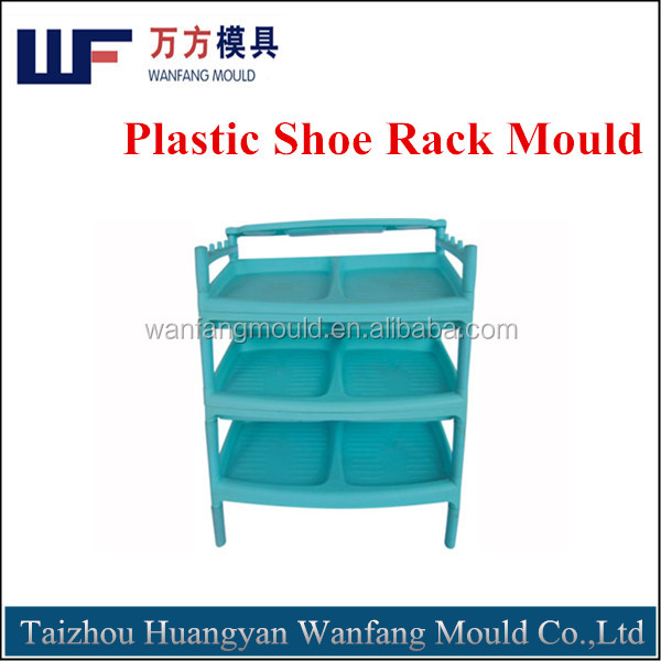 household products mould plastic shoe rack inejction mould