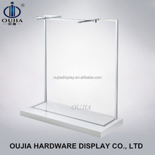 clothes hanging rail/garment display shelf/clothing store fixture