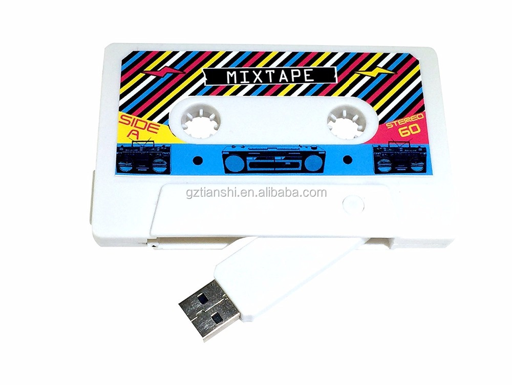 Creative Design Cassette Tape USB Flash Drive 8GB