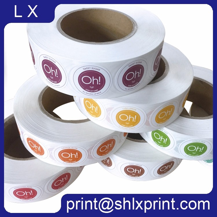 Custom Printed Roll Self-Adhesive Sticker