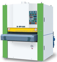 China plywood calibrating sanding wide belt sander machine