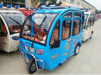 Fully enclosed small electric motorcycle tricycle-DM5