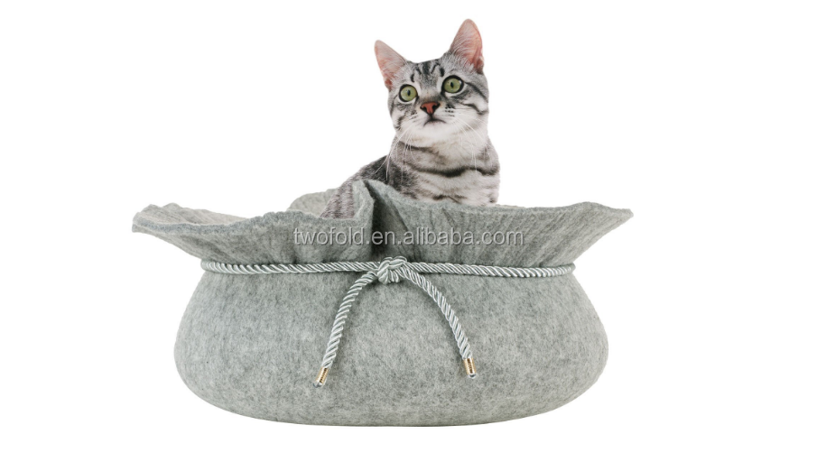 Stylish Felt Cat Bed Cat Pod Pet Bed