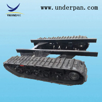 agriculture machinery parts crawler undercarriage for turn push machine