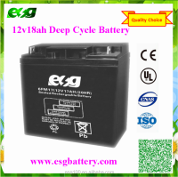 Rechargeable Deep Cycle Storage MF SLA 12V18AH 12V19AH Sealed Lead Acid Battery