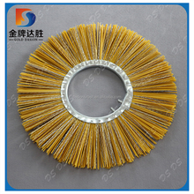 Manufacturer Nylon Steelwire Snow Sweeping Forklift Road Cleaning Ring Brush