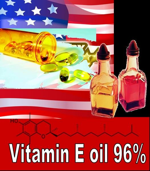 Vitamin E oil 96%/98% (stocked in US and China)