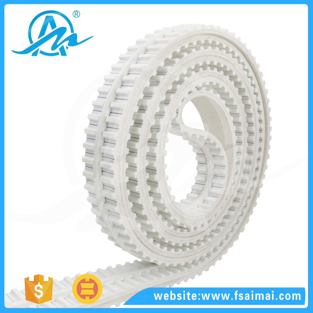 AIMAI Special processing pu timing belt/timing belt with guide bar
