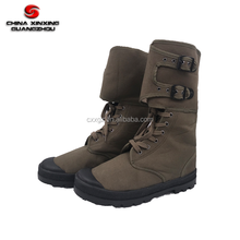 Army combat canvas boots for military trainning