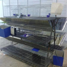 2017 New design industrial rabbit farming cage/animal cage for farming with great price