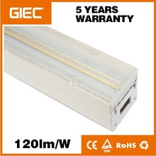 3 phase 5 wires 1.5m led linear lighting system light factory sale black led linear trunk system