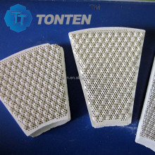 customizable honeycomb ceramic regenerator, special heat storage ball for heaters, honeycomb heater ceramic
