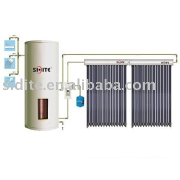 With Doudle Copper Coil Split Soalr Water Heater