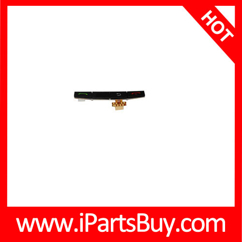 Controller Button + Home Key Button PCB Membrane Flex Cable for BlackBerry 9500, Spare parts for BlackBerry