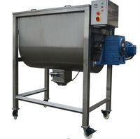 industrial pharmaceutical powder mixing machine with packaging machine