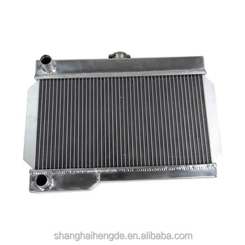 All Aluminum Alloy Radiator For MAZDA RX-7 S1 S2 S3 12A 1146cc 13B RE-EGI 1308CC Engine 1979 - 1985