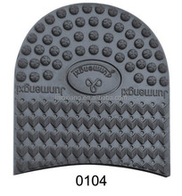 0104 Skidproof Natur Rubber Man Half Sole For Shoe Heels Repair