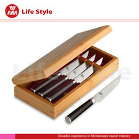 Homesen top quality stainless steel serrated steak knife