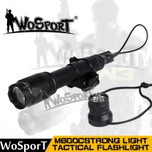 WoSporT IPX-6 multifunctional LED M600C strong light tactical aluminum alloy flashlight