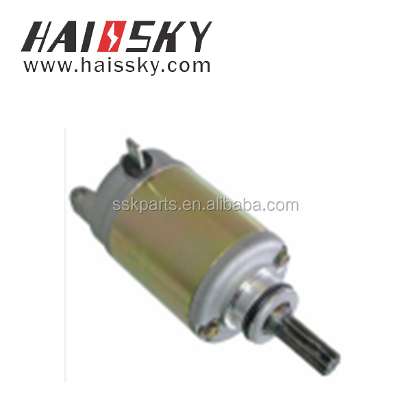 HAISSKY motorcycle spare parts factory price High performance starter moto motorcycle parts for AX4 GD110