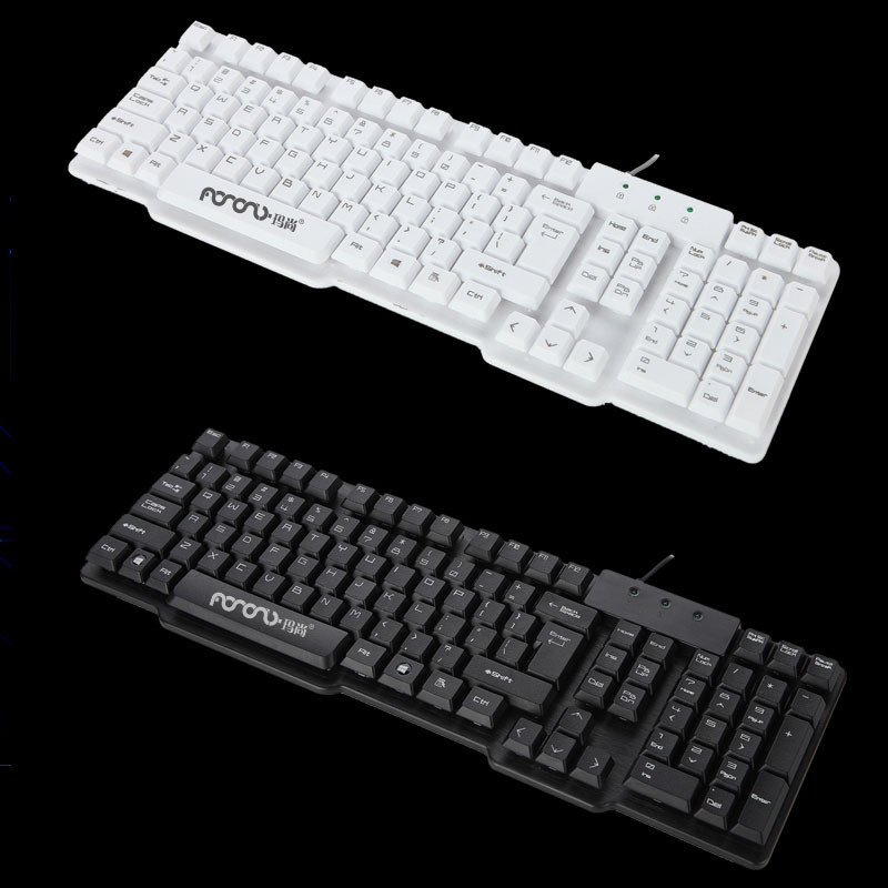For Only New Computer accessories special offers w/without LED wired gaming mechanical keyboard Universal laptops key board