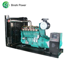 200KW Natural Gas Generator Prices Cummin Engine Faraday Alternator 6 Cylinder with Low Noise