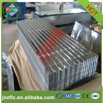 Warehouse roofing used color coated corrugated aluminum sheet
