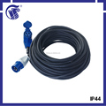 IP44 CEE male connector type high quality power extension cord