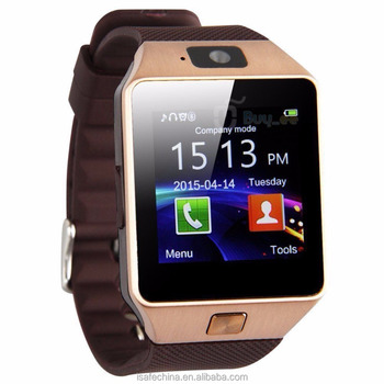 2017 Wholesale DZ09 Smart Watch with SIM Card Bluetooth Smart Watch DZ09