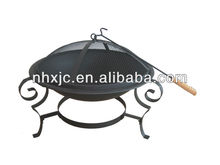 "21"" bowl wood burning outdoor fire pit"